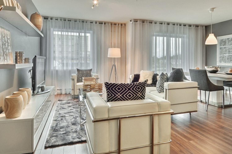 Appartement à louer Châteauguay - Quartier du Centre - Salon 2